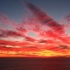 Catalina Island, California - Sunrise from Catalina