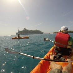 Kayak Adventure Labadee, Haiti
