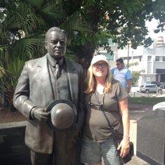 San Juan, Me with Edgar Hoover