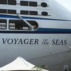 Outside Voyager