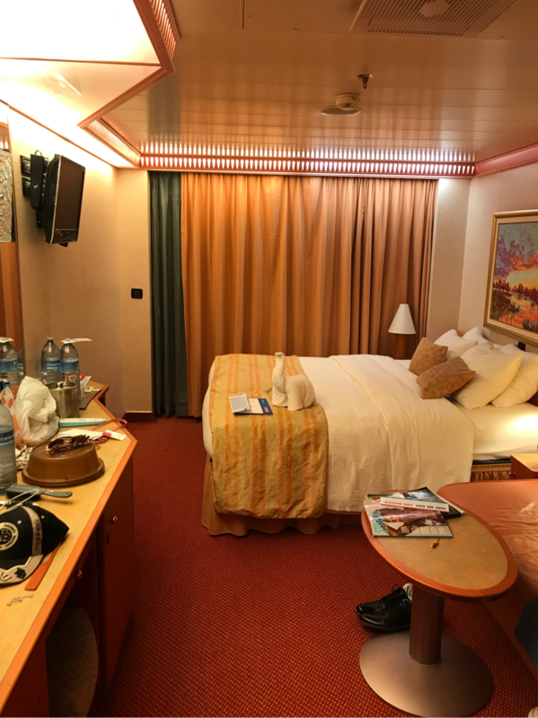Balcony Cabin 8285 On Carnival Splendor, Category 8D