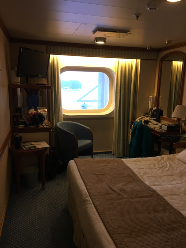 Oceanview Stateroom Obstructed View Cabin Category O4 Star Princess