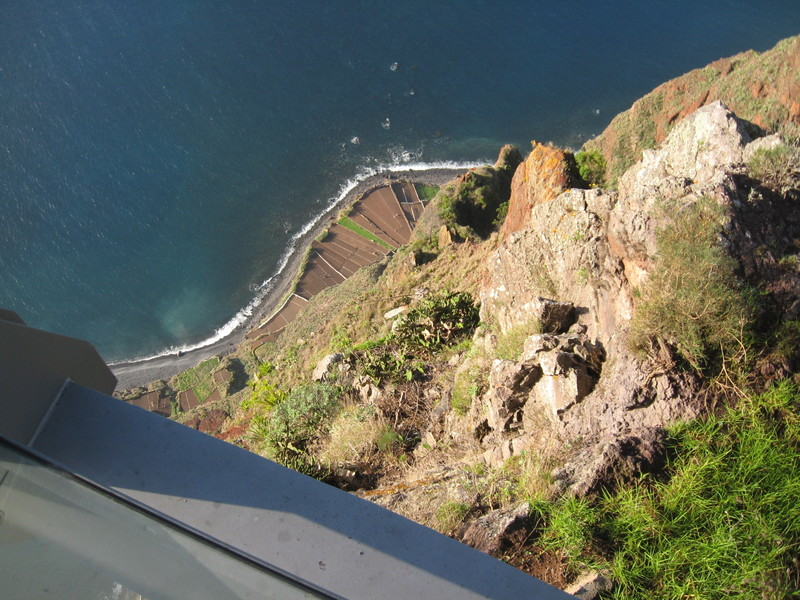 Madeira, Portugal - Tallest vertical cliff in Europe--Madeira Islands