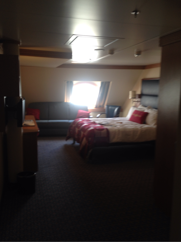 Deluxe Oceanview Stateroom Cabin Category Q9 Disney Dream