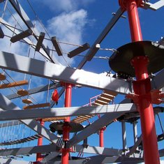 Ropes Course on Norwegian Escape