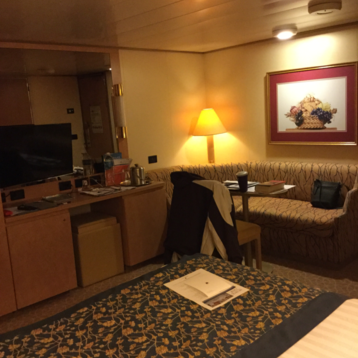 Large or Standard Interior Stateroom on Oosterdam