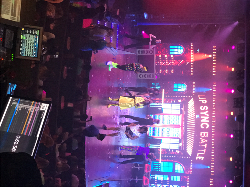 Lip Sync battle was very good! - Carnival Breeze