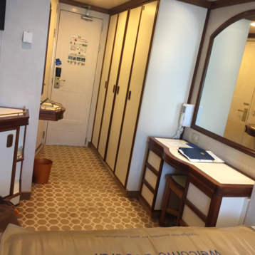 Oceanview Stateroom on Sun Princess