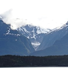 Inside Passage heading south from Skagway
