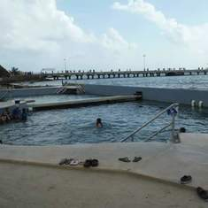Dolphin Cove, Costa Maya View 2