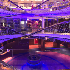 Atrium on Koningsdam