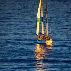 Sailing in Ensenada