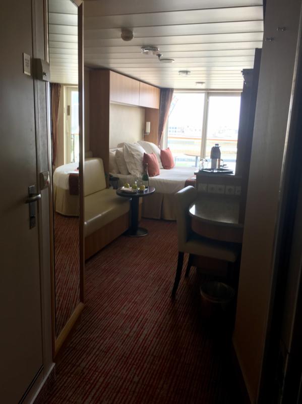 Balcony Cabin 1002 On Celebrity Equinox Category C3