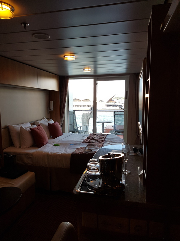 Balcony Cabin 6275 On Celebrity Solstice Category 2c
