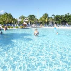 Pool in Grand Turk