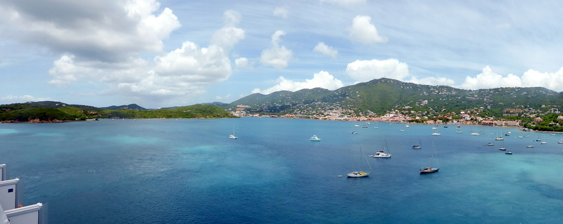 Port in St Thomas - Carnival Liberty