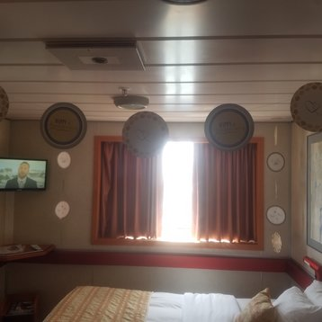 Interior Stateroom on Carnival Inspiration