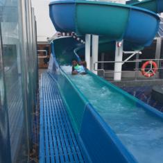 Slide Entrance on Carnival Splendor