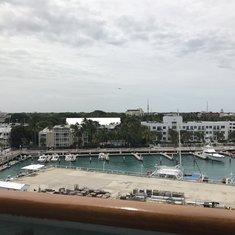 Balcony view of Key West