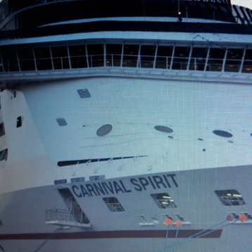 Premium Balcony Stateroom (obstructed view) on Carnival Spirit