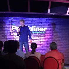Punchliner comedy club ... our favorite place on the ship
