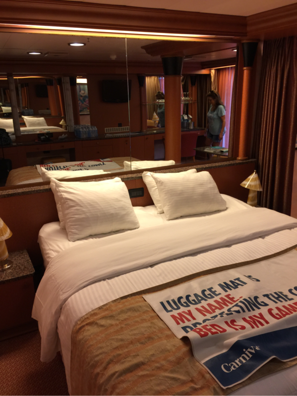 Grand Suite Cabin Category Gr Carnival Fascination