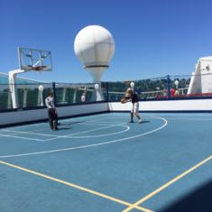 Sports Court on Explorer of the Seas
