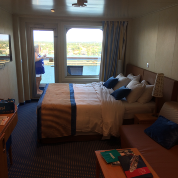 Standard Balcony on Carnival Vista