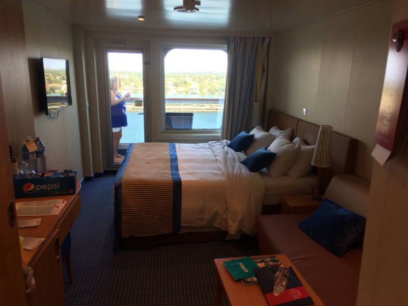 Balcony Cabin 9268 on Carnival Vista Category 8E