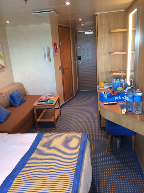 Standard Balcony Cabin Category 8e Carnival Vista