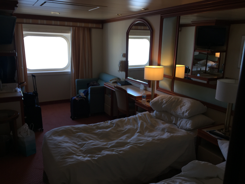 Premium Oceanview Stateroom Cabin Category O6 Island