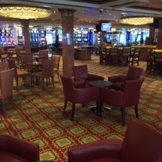 Louis XIV Casino on Carnival Spirit