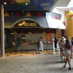 Boardwalk Dog House on Harmony of the Seas
