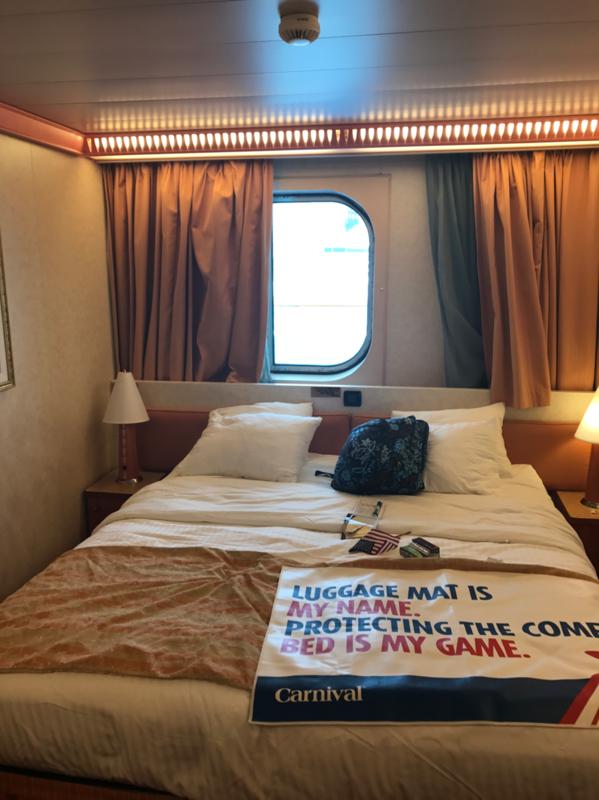 Inside Cabin 7204 On Carnival Valor Category 4j