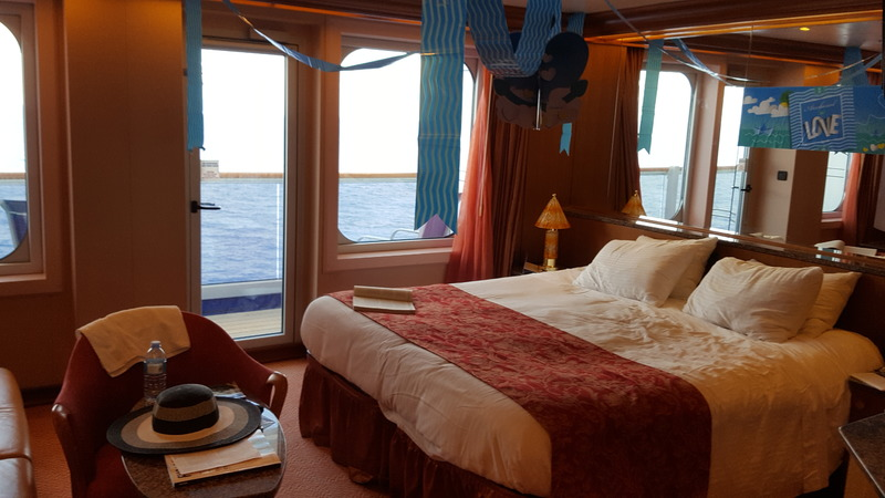 Suite 7278 on Carnival Freedom, Category U3