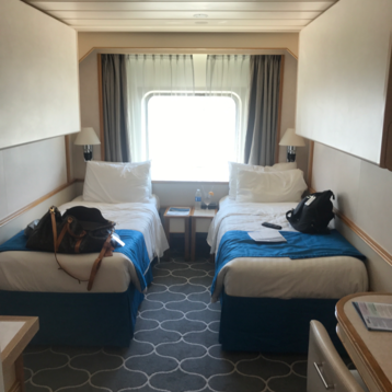 Oceanview Stateroom (Porthole Window) on Empress of the Seas