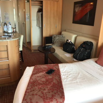 Deluxe Veranda Stateroom (Obstructed View) on Celebrity Equinox