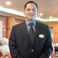 Our matre'D, head waiter & assistant waiter