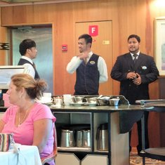 Great Gatsby Head waiter