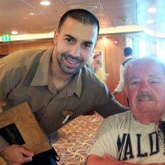 Pablo, Head waiter in Davinci's Italian Restaurant