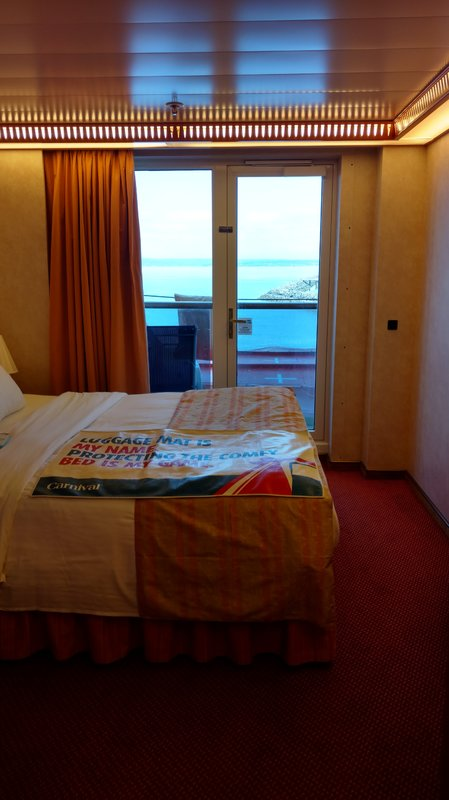 Balcony Cabin 5236 On Carnival Legend Category 7a