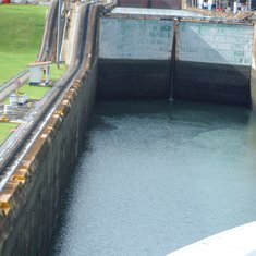 Moving into the lock
