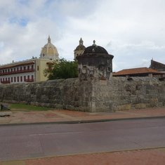 Historical section, Cartegena, Columbia