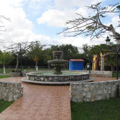 grounds at Hacienda Antigua, Cozumel