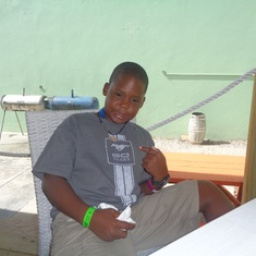 Philipsburg, St. Maarten - My young man