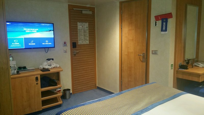 Inside Cabin 6330 On Carnival Vista Category 4e