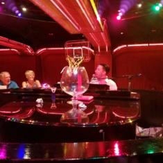 The Cinn-A-Bar Piano Bar on Carnival Glory