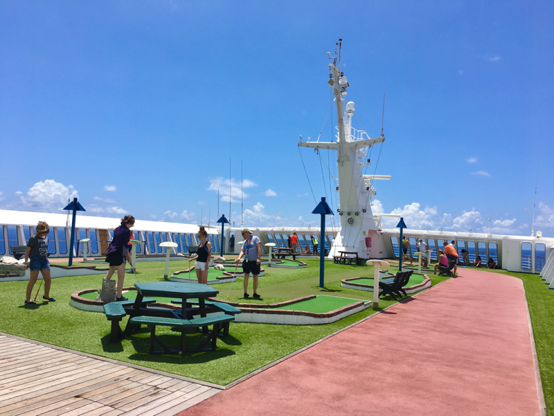 Mini Golf and Jogging Track - Carnival Ecstasy