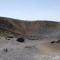 Dormant Crater Mt Etna