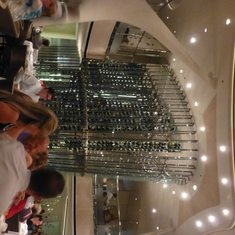 Wine Tower in Opus Restaurant